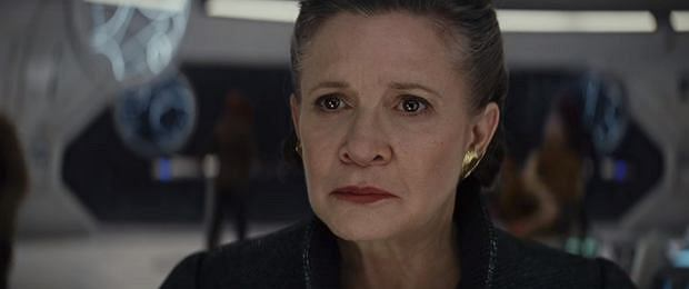 Carrie Fisher jako Leia Organa