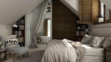 Funkcjonalne mieszkanie na poddaszu - inspiracje