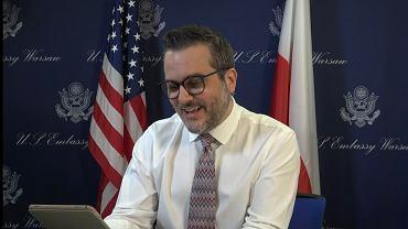 Chargé d'Affaires a.i. USA w Polsce Bix Aliu