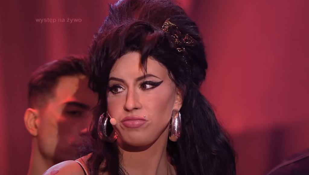 Maja Hyży jako Amy Winehouse (Twoja Twarz Brzmi Znajomo)