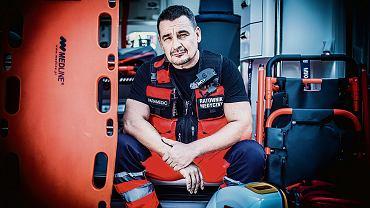 Adam Piechnik- ratownik medyczny