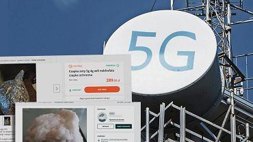 Produkty chroniące przed 5G zalewają sieć