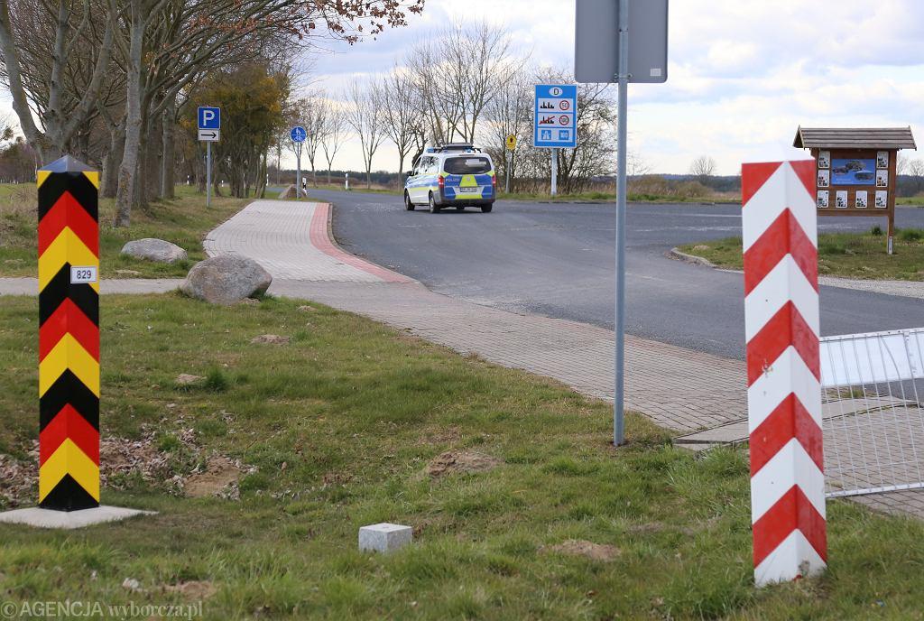 Nowe zasady podróży z Polski do Niemiec. Przejście graniczne Buk - Blankensee (zdjęcie ilustracyjne)