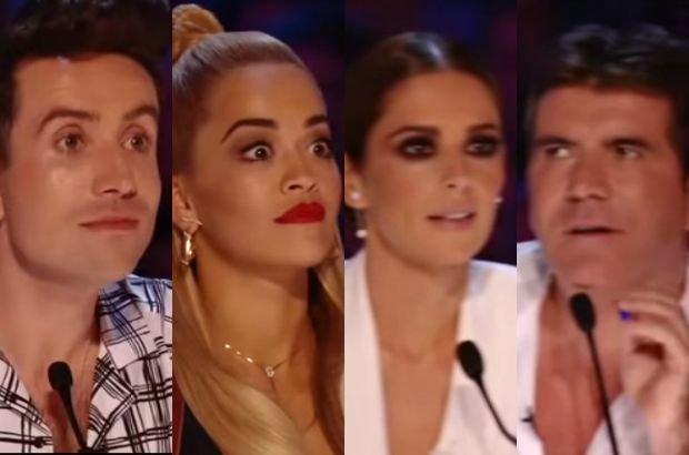 Nick Grimshaw, Rita Ora, Cheryl Fernandez-Versini, Simon Cowell
