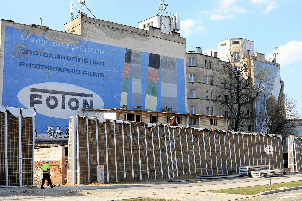 Tak wyglądały murale przed zamalowanie. Zdjęcie z 2018 roku.