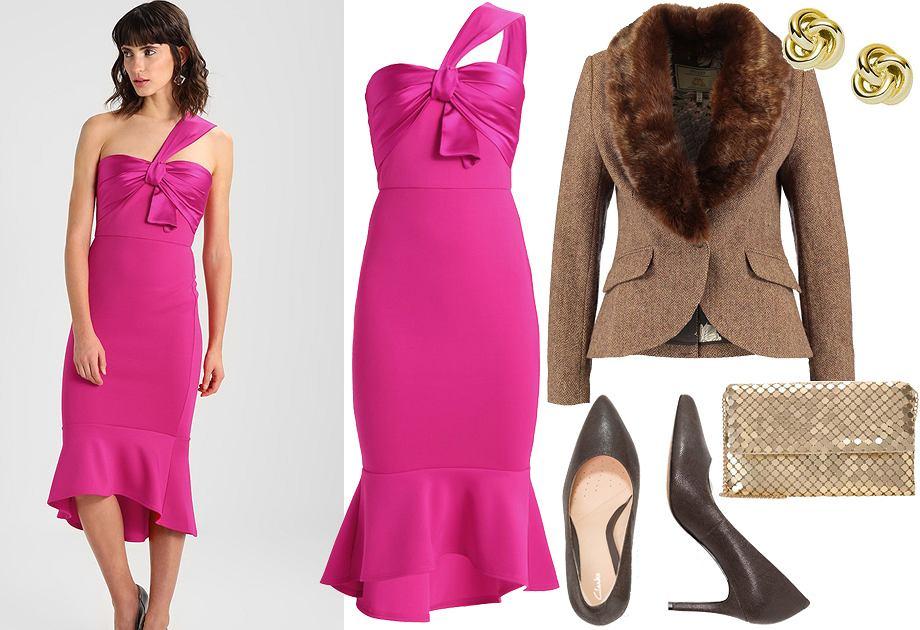 Sukienki W Kolorze Fuksji Z Czym Nosic Najmodniejsze Kreacje Sezonu
