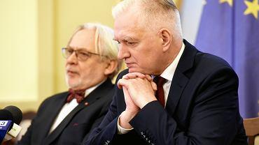 Jarosław Gowin i Wojciech Maksymowicz