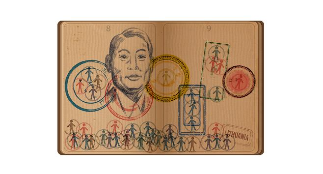 Google Doodle celebruje pamięć o Chiune Sugiharze