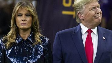 Donald Trump zaliczył wpadkę, która nie przystoi prezydentowi. Melania za to wiedziała, jak się zachować