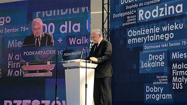 Jarosław Kaczyński w Jasionce