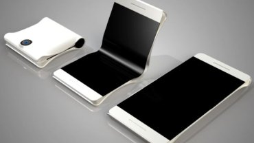 Zginany telefon Samsunga (koncept)