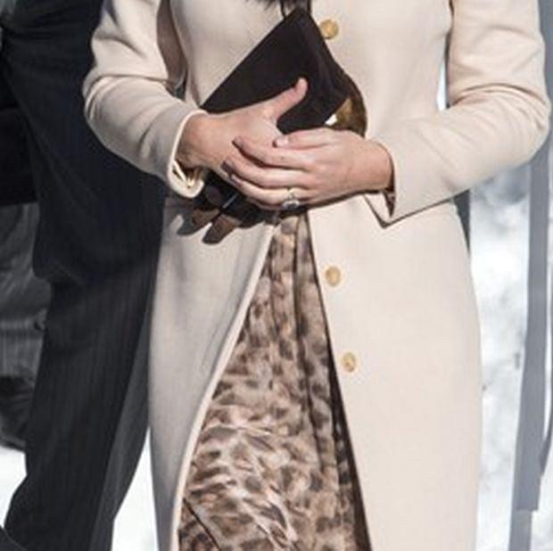 Księżna Kate, ciąża, brzuch