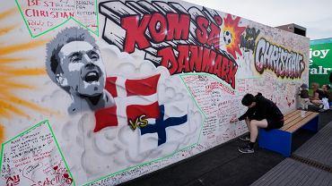 Christian Eriksen napisał do drużyny po meczu z Belgią. Braithwaite zdradza