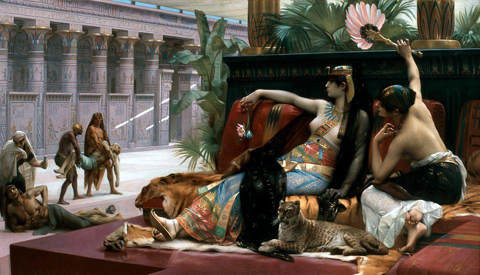 Kleopatra na obrazie Alexandre Cabanela z 1887 roku