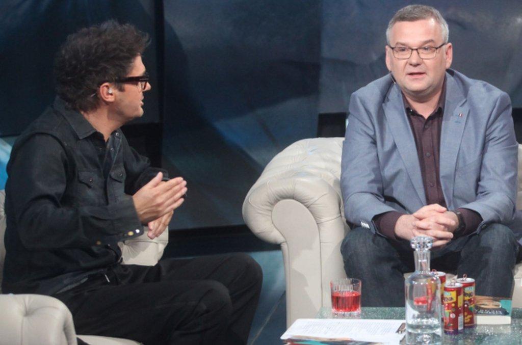 Kuba Wojewódzki i Artur Andrus