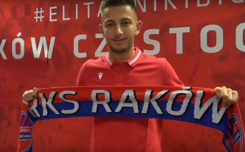 Giannis Papanikolaou nowym piłkarzem Rakowa