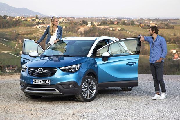 Opel Crossland X - prezentacja modelu. Wzór przestronnego crossovera