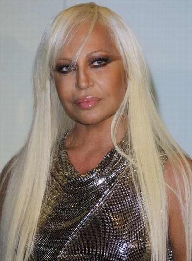 PHOTO: EAST NEWS/SPLASH NEWS Donatella Versace  at the opening of the  exhibition 'Versace at the V & A - A Retrospective of Gianni Versace' at the Victoria and Albert museum in London. Gianni Versace was born in 1946 and shot dead in 1997 outside his Florida Home
