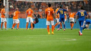 Holandia - Kazachstan w eliminacjach Euro 2016