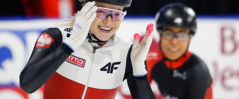 Natalia Maliszewska nadal liderką Pucharu Świata w shorttracku na 500 m. W Ałmatach była trzecia po finale z upadkiem