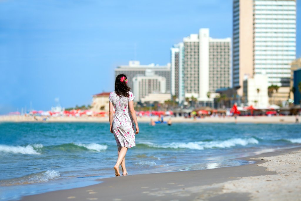 Plaża Tel Aviv