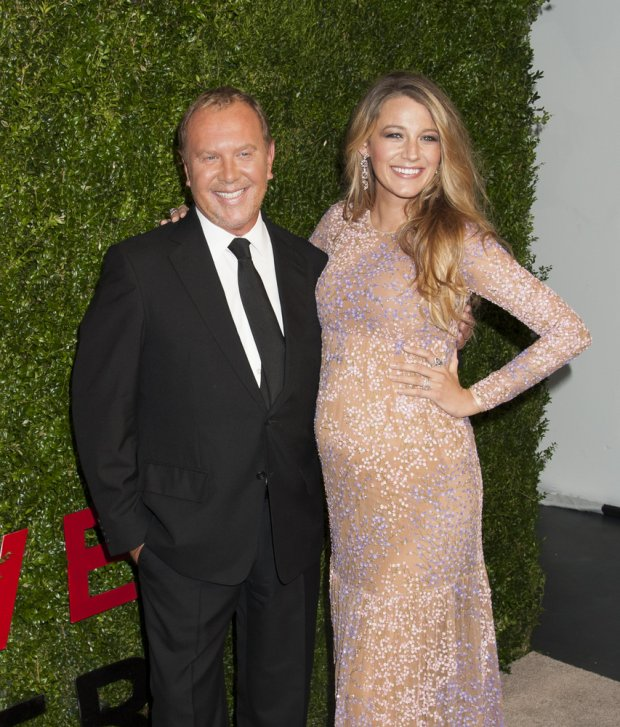 10/16/2014 - Michael Kors, Blake Lively - 2014 Gods Love We Deliver, Golden Heart Awards - Arrivals - Spring Studios - New York City, NY, USA - Keywords: fashion designer, 8th Annual Golden Heart Awards, Delivery, Topics, Vertical, Arts Culture and Entertainment, Attending, Topix, Bestof, Celebrity, Celebrities, Charity Orientation: Portrait Face Count: 1 - False - Photo Credit: Janet Mayer / PRPhotos.com - Contact (1-866-551-7827) - Portrait Face Count: 1
