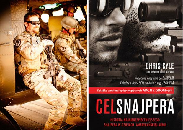 broń, mój pierwszy raz, Mój pierwszy raz - na strzelnicy za snajperem SEALs, Cel snajpera Chrisa Kyle'a
