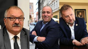 Cezary Przybylski, Grzegorz Schetyna i Robert Raczyński
