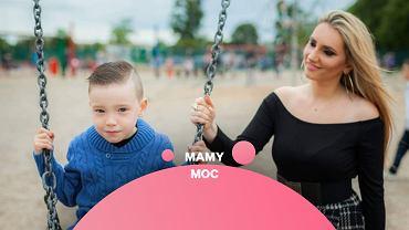 Monica Walsh z synem