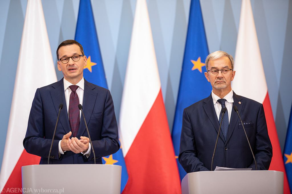 0Konferencja prasowa Premiera i Ministra Finansow