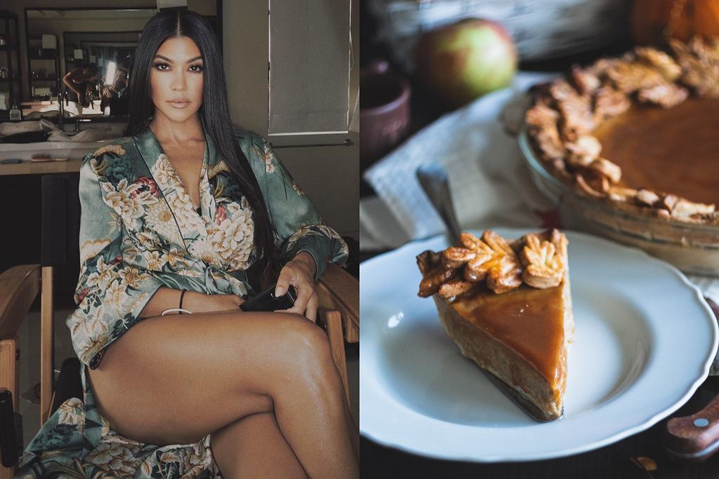 Kourtney Kardashian, proste dyniowe ciasto
