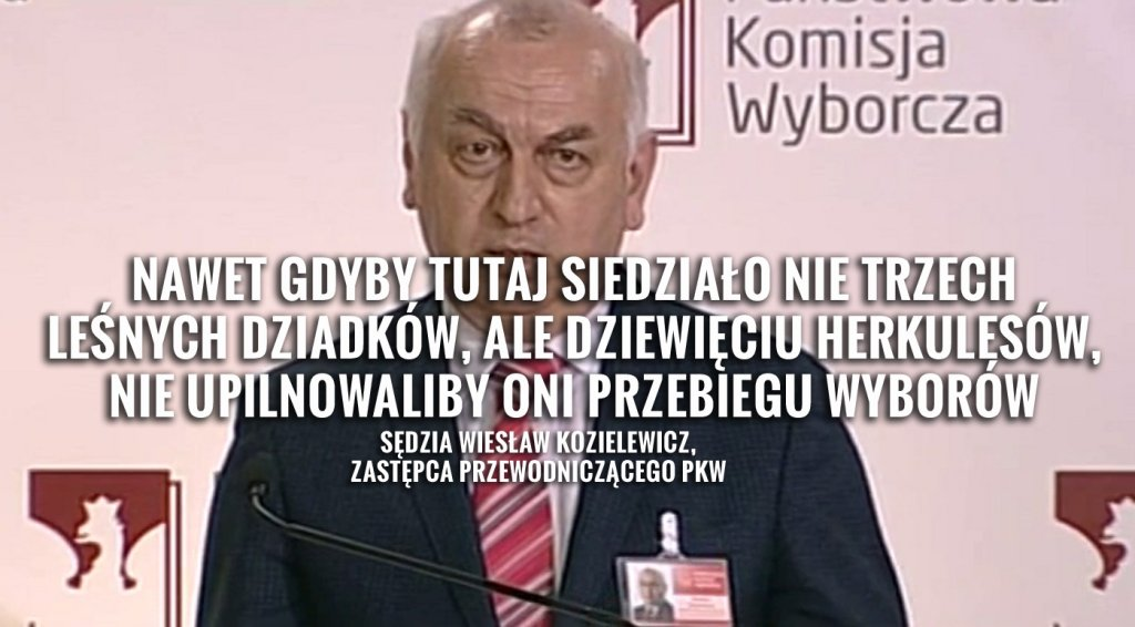 Sędzia Wiesław Kozielewicz