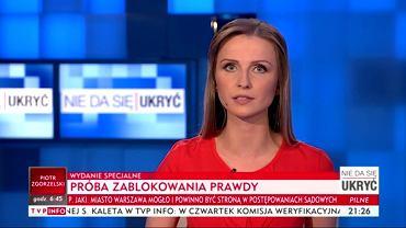 Program TVP Info 'Nie da się ukryć'