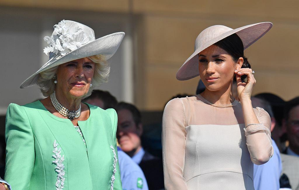 Księżna Camilla i Meghan Markle