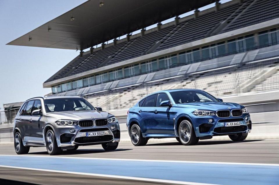2015 BMW X5 M i BMW X6 M