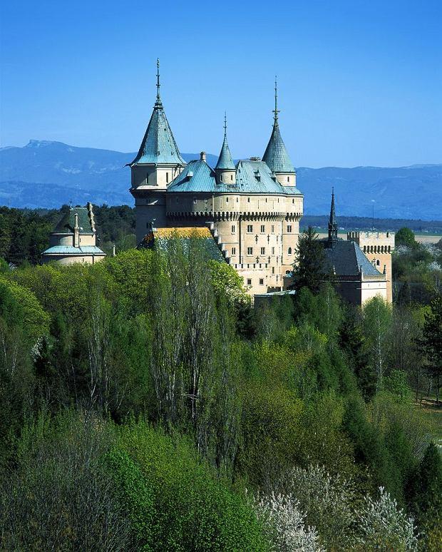Słowackie zamki - zamek w Bojnicach / fot. shutterstock