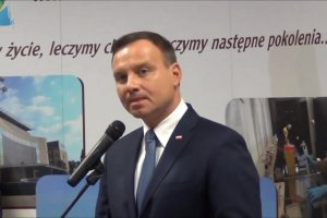 Prezydent Duda o nowym oddziale Szpitala Jurasza i Collegium Medicum