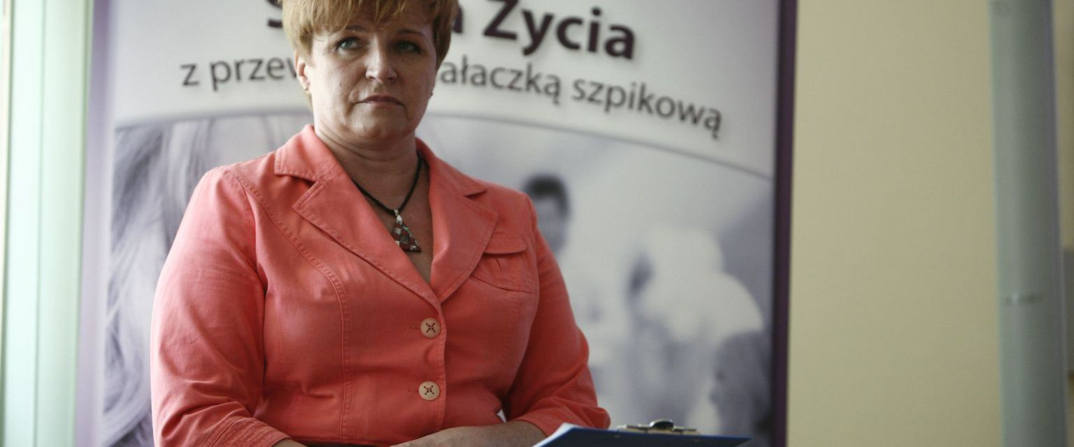 Urszula Jaworska (fot. Krzysztof Koch / Agencja Gazeta)