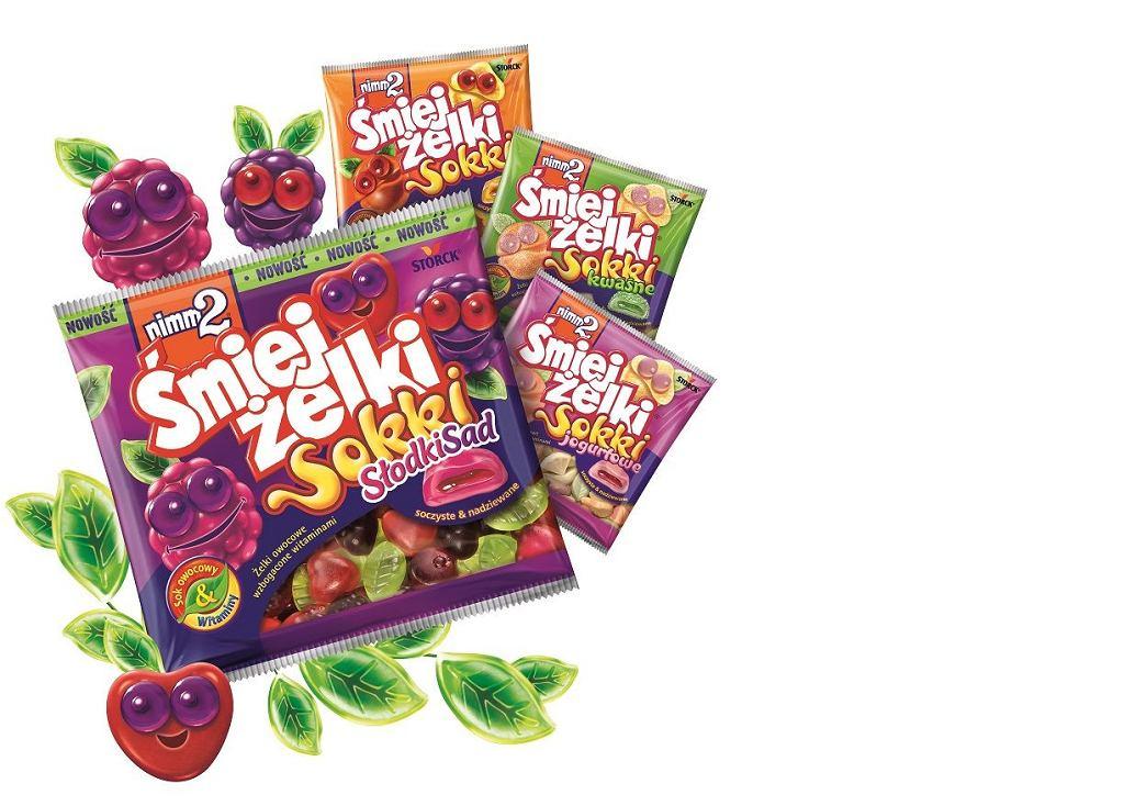 Dołącz do Wesołej Drużyny! Soczyście owocowe Śmiejżelki Sokki Słodki Sad, czyli NOWOŚĆ od Nimm2