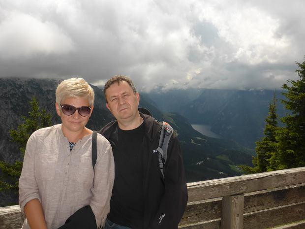 Sławomir Moczydłowski z żoną (fot. Archiwum prywatne)
