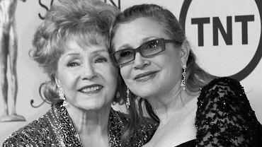 Debbie Reynolds, Carrie Fisher, 2015