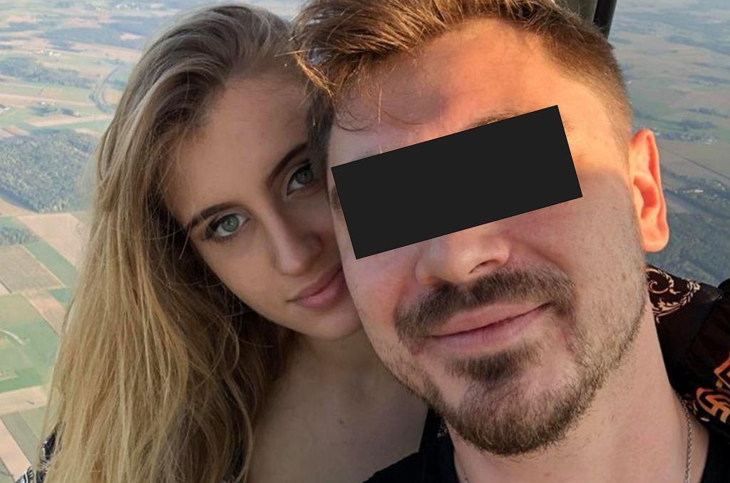 Daniel M. z żoną