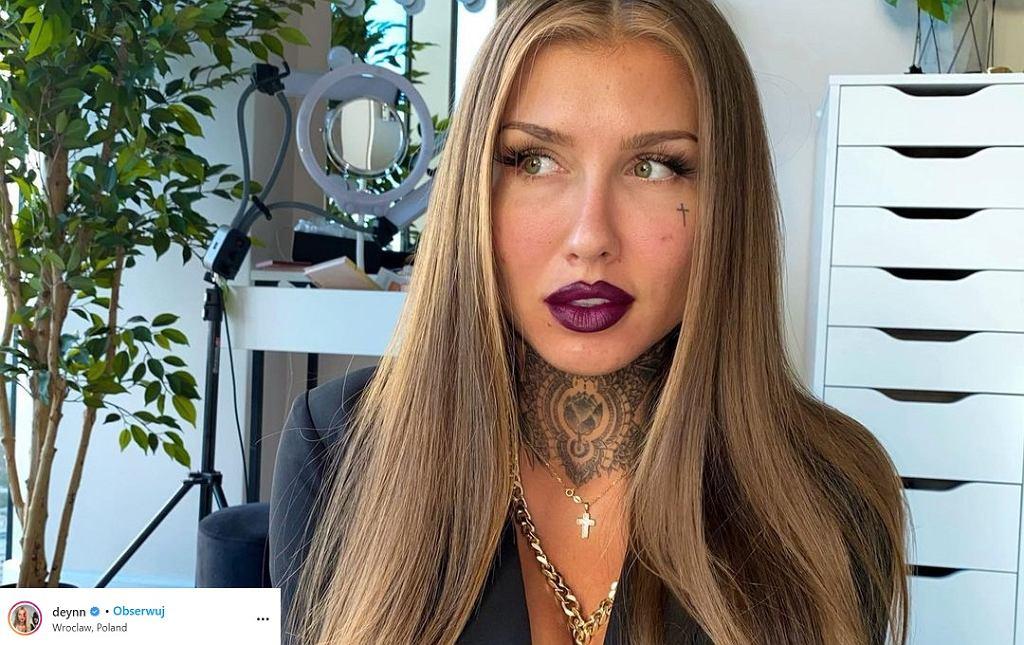 Deynn wykonała makijaż w odpowiedzi na wyrok TK. 'Wyraża więcej niż tysiąc słów'
