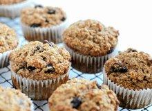 Muffiny z otrębami - ugotuj