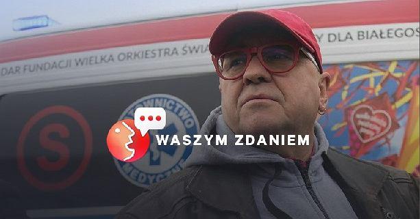 Czytelnicy Gazeta.pl proszą Jerzego Owsiaka, żeby nie rezygnował