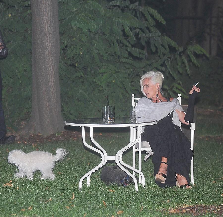 Jackowska Kora pies, papieros