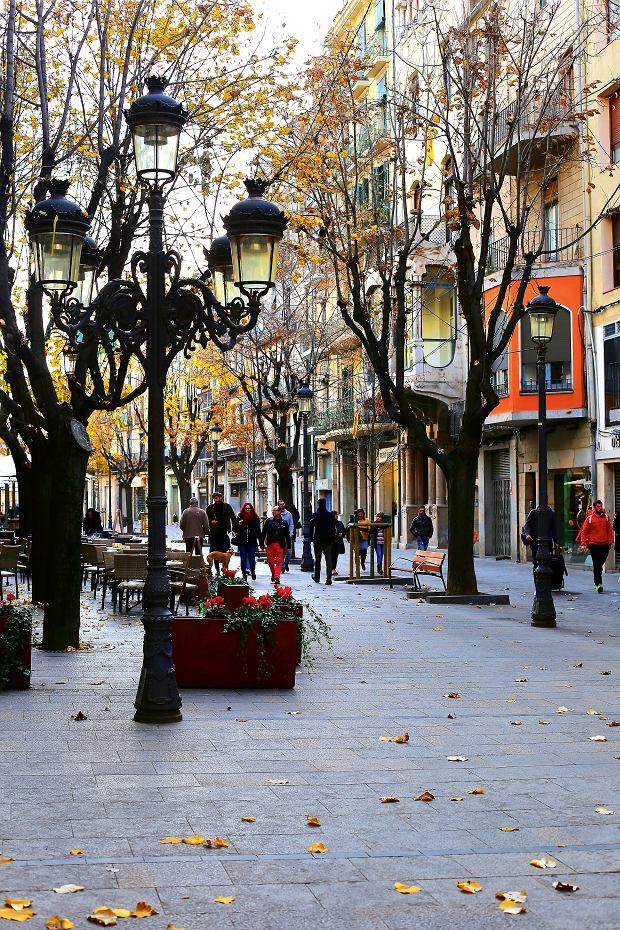 Girona, Rambla de la Libertad wGironie