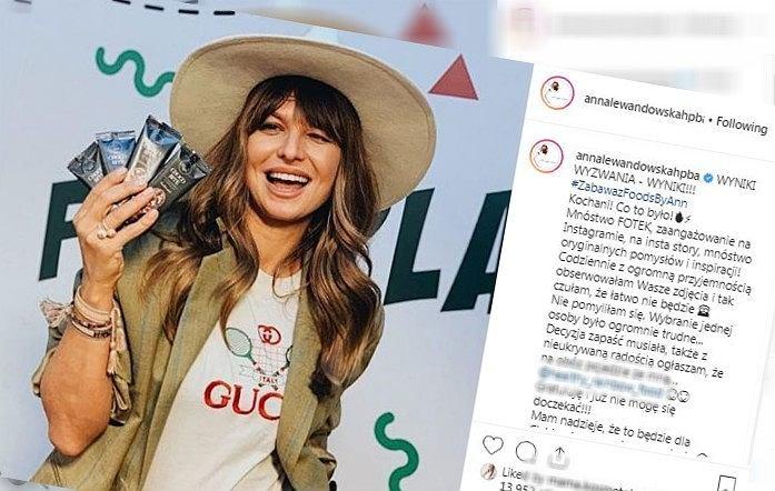 Screenshot/Instagram/Anna Lewandowska
