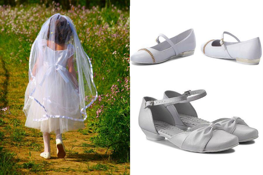 Buty na I Komunię Świętą dla dziewczynki