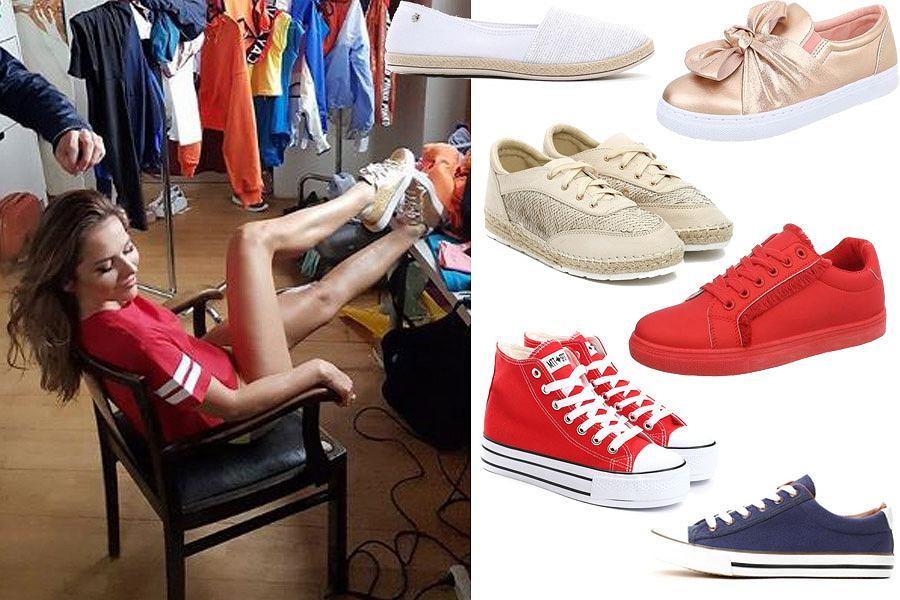 Kolaż, buty sportowe/Materiały partnera